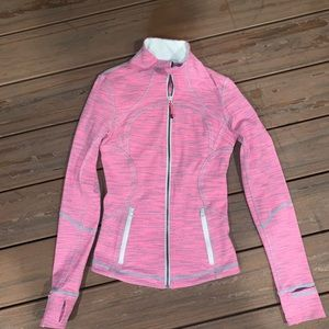 lulu lemon zip up jacket!